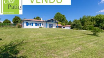 Villa contemporaine 114 m2 Saint Sever