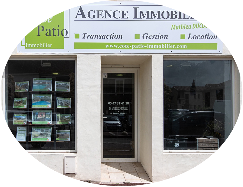 Agence immobilière à Hagetmau