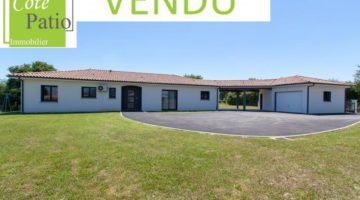 Magnifique villa contemporaine de plain-pied 140 m2.