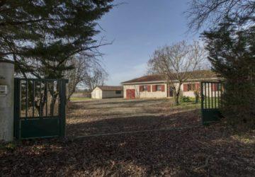 maison 4 chambres avec 5 hectares !