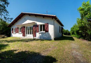 Maison contemporaine sur Saugnacq et muret