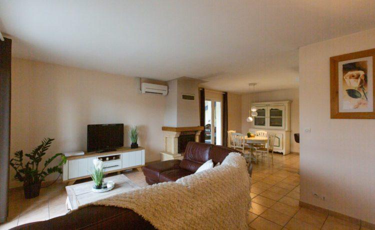 Villa de plain-pied, 3 chambres. 3