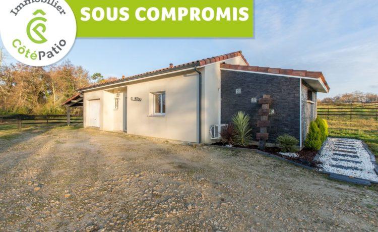 Maison contemporaine 2017, 3 chambres, terrain 4445m2 1